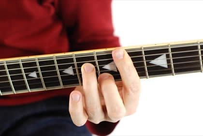Finger position to perform C# minor seventh chord (C#m7, C#-7, C#mi7)